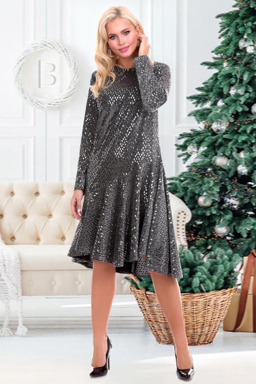 Платье Кэтрин (сильвер)