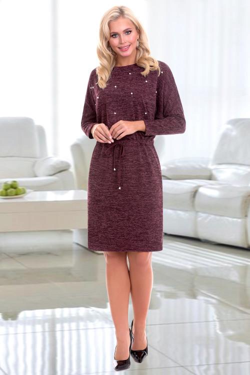Платье Тицианна (вино)