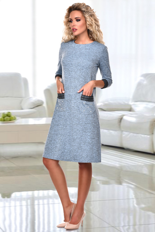 Платье Вильма (блю)