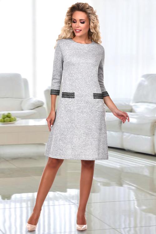 Платье Вильма (сильвер)