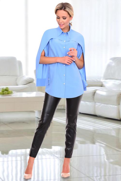 Рубашка Каролина (скай)